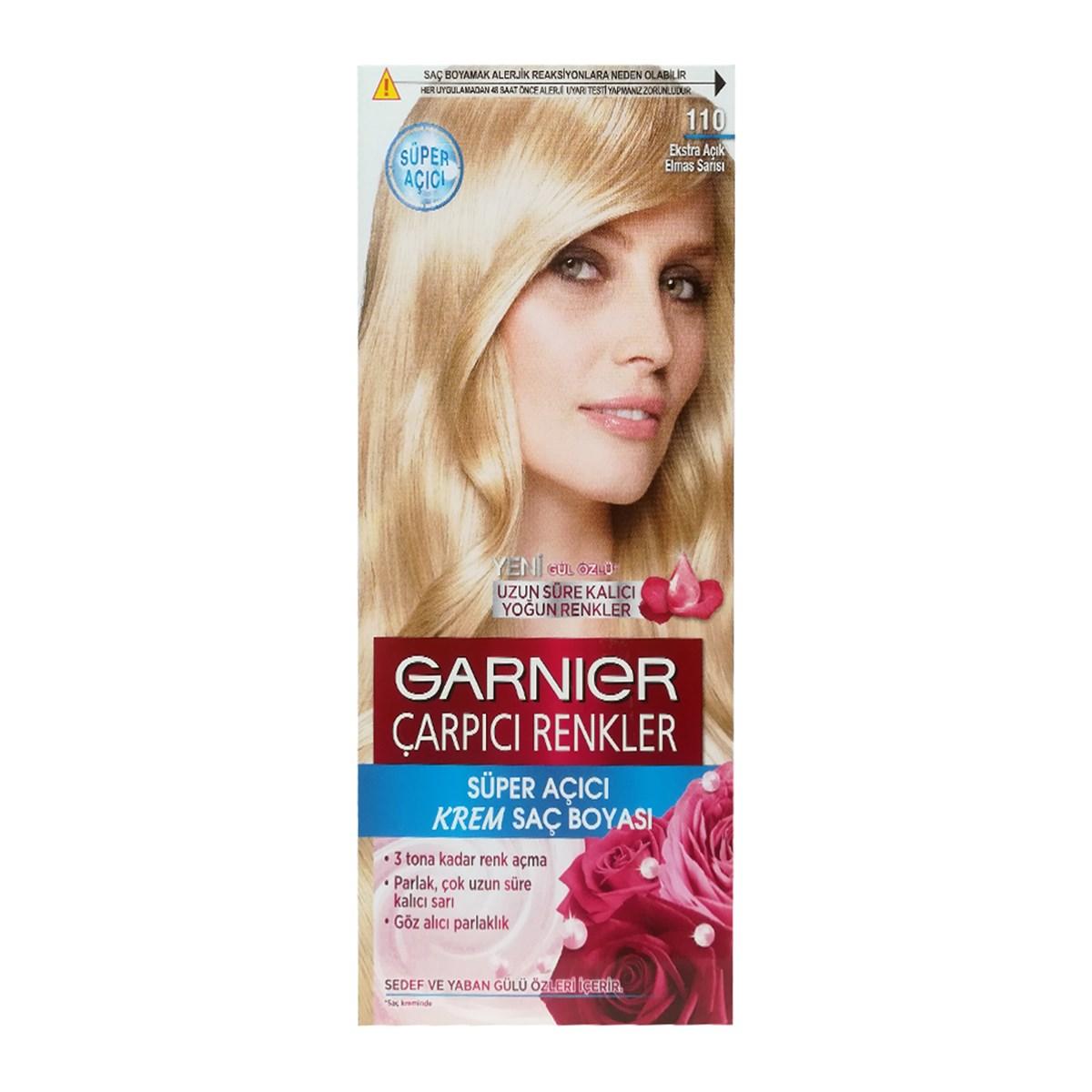 کیت رنگ مو گارنیر سری Çarpıcı Renkler شماره 110