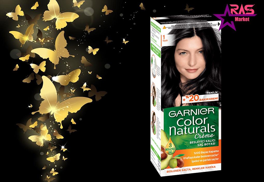 کیت رنگ مو گارنیر سری Color Naturals شماره 1 ، خرید اینترنتی محصولات شوینده و بهداشتی