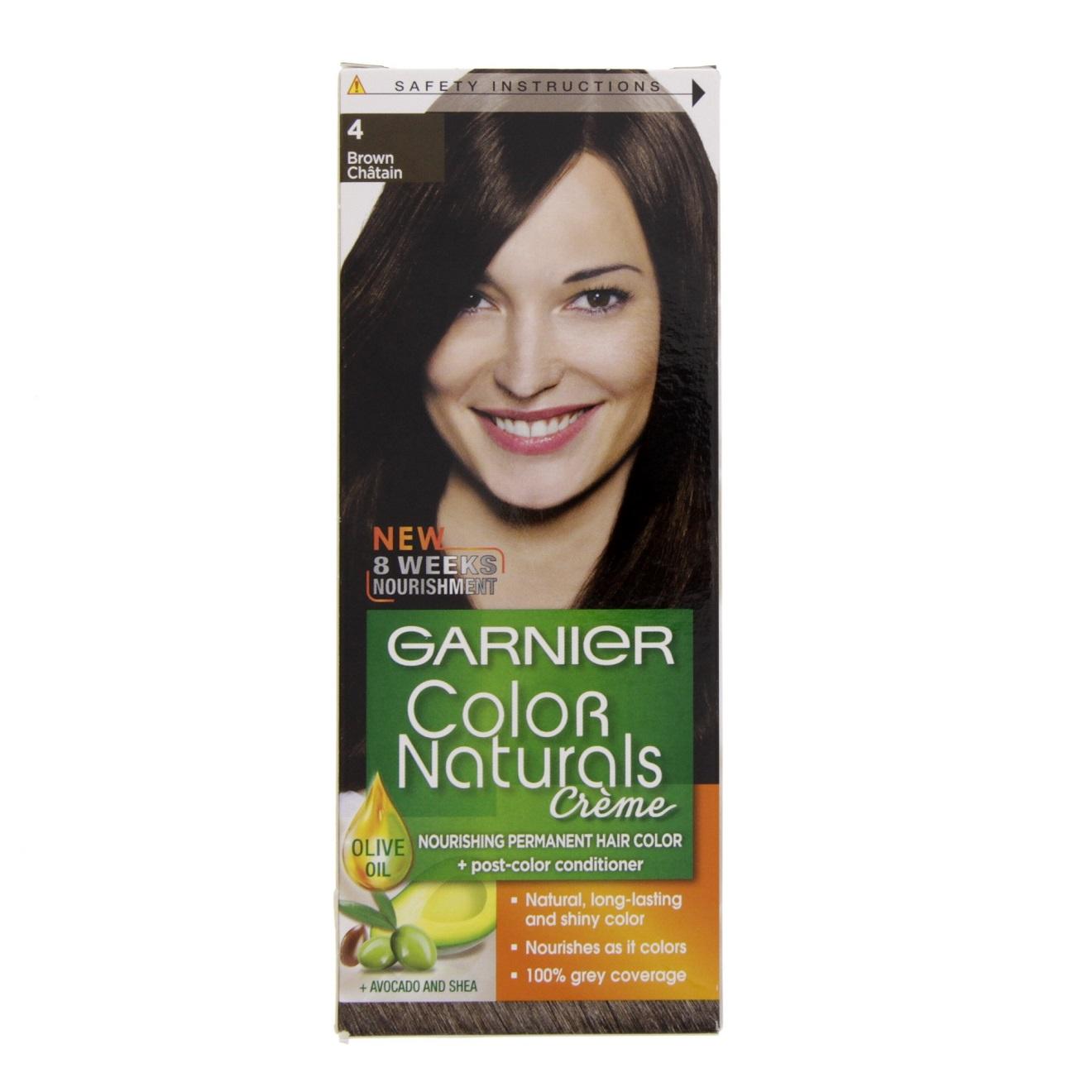 کیت رنگ مو گارنیر سری Color Naturals شماره 4