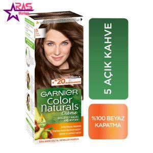 کیت رنگ مو گارنیر سری Color Naturals شماره 5 ، فروشگاه اینترنتی ارس مارکت