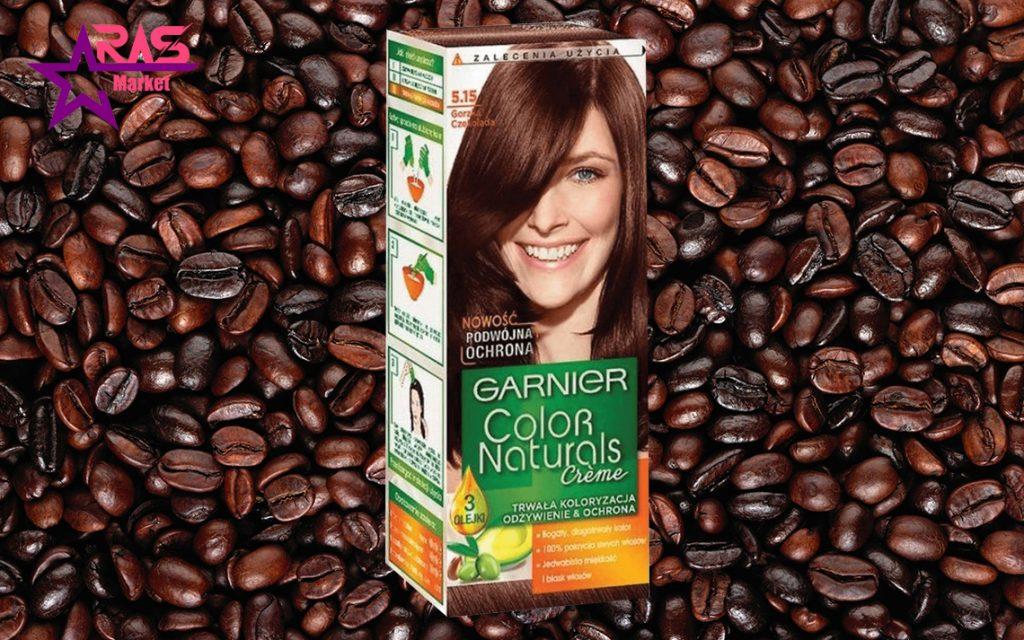 کیت رنگ مو گارنیر سری Color Naturals شماره 5.15 ، خرید اینترنتی محصولات شوینده و بهداشتی ، بهداشت بانوان