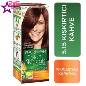 کیت رنگ مو گارنیر سری Color Naturals شماره 5.15 ، فروشگاه اینترنتی ارس مارکت