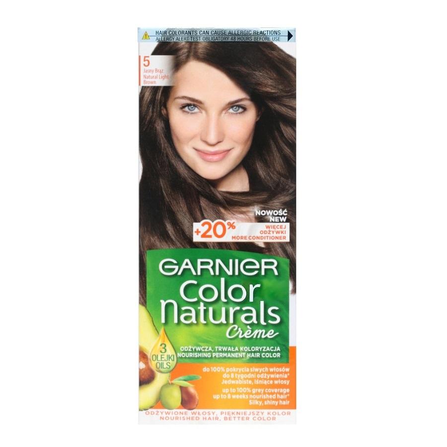 کیت رنگ مو گارنیر سری Color Naturals شماره 5