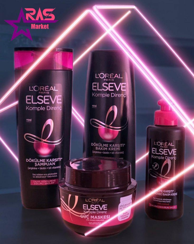 ماسک مو لورآل سری ELSEVE مدل Komple Direnç ضد ریزش مو مخصوص موهای ضعیف 300 میلی لیتر ، ماسک موی لورآل
