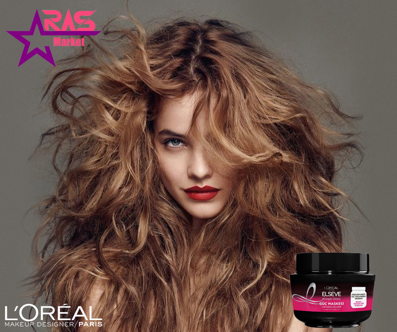 ماسک مو لورآل سری ELSEVE مدل Komple Direnç ضد ریزش مو مخصوص موهای ضعیف 300 میلی لیتر ، مراقبت مو، loreal