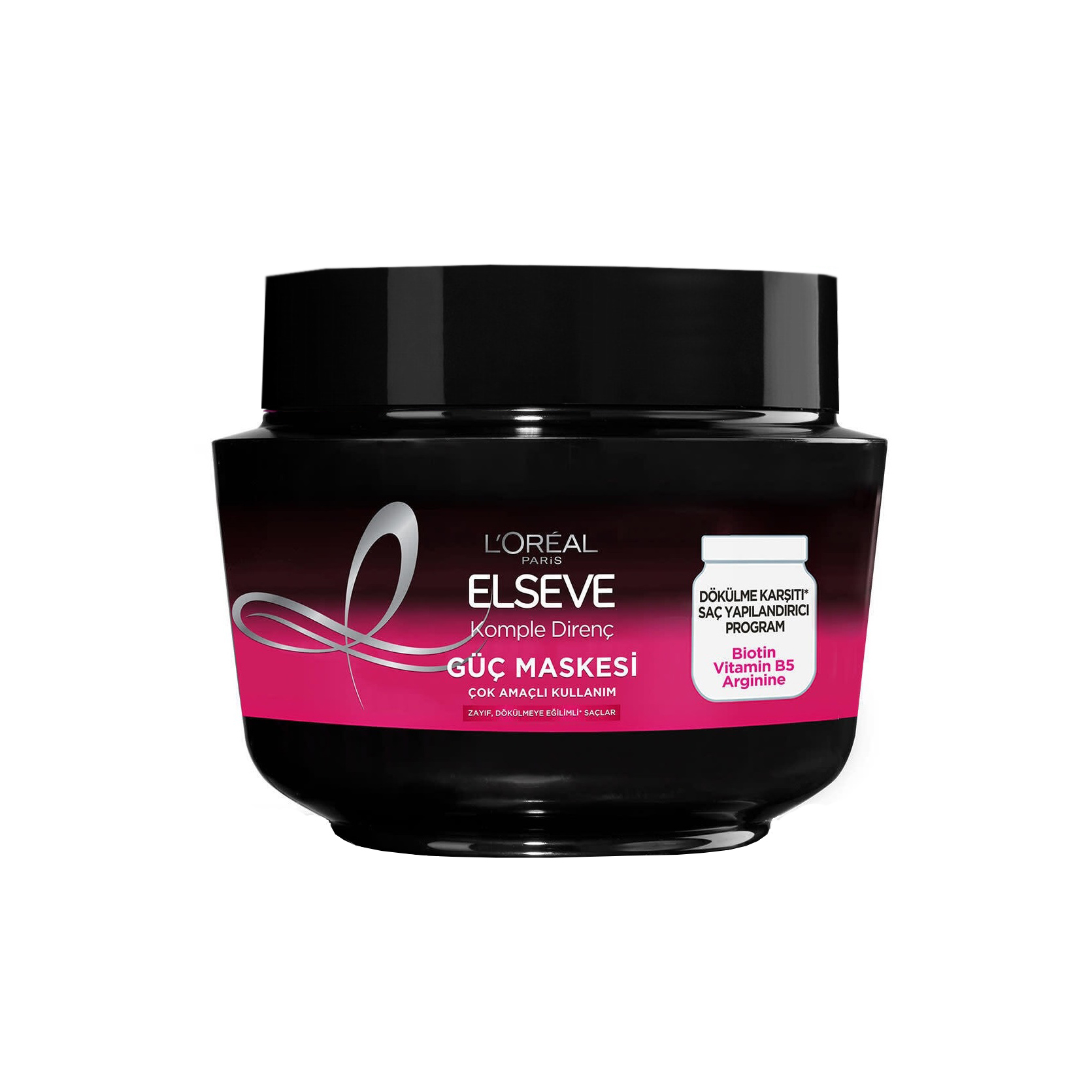 ماسک مو لورآل سری ELSEVE مدل Komple Direnç ضد ریزش مو مخصوص موهای ضعیف 300 میلی لیتر