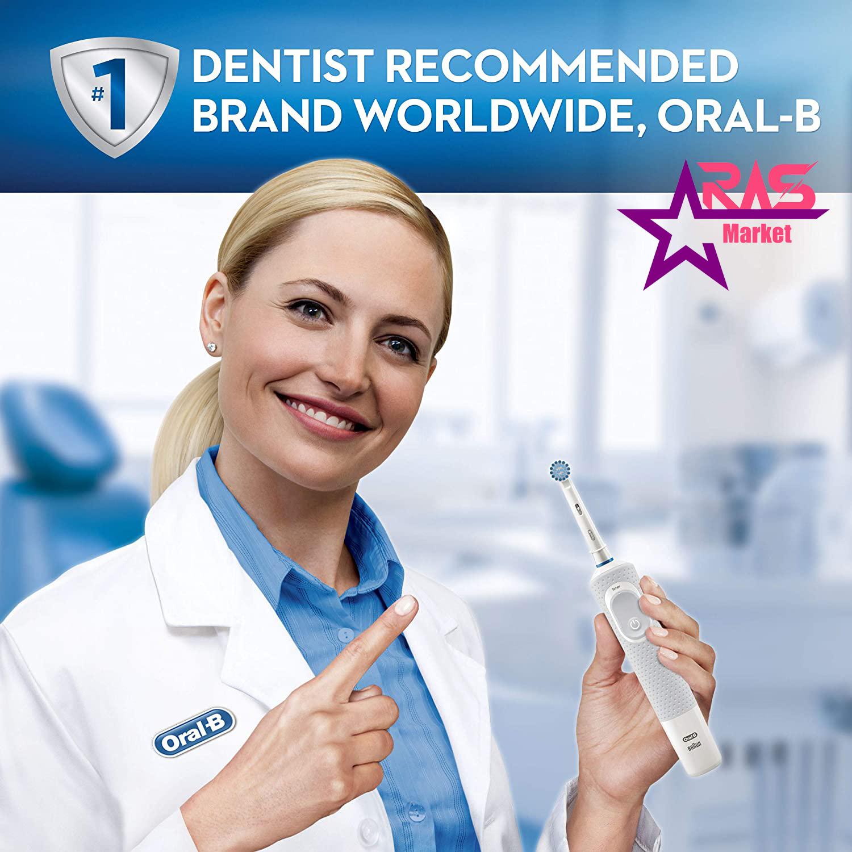 مسواک برقی اورال بی مدل Vitality 100 Sensi Ultra Thin رنگ سفید ، فروشگاه اینترنتی ارس مارکت ، مسواک برقی oral b