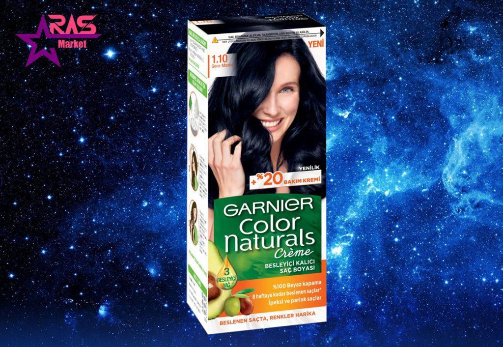 کیت رنگ مو گارنیر سری Color Naturals شماره 1.10 ، خرید اینترنتی محصولات شوینده و بهداشتی
