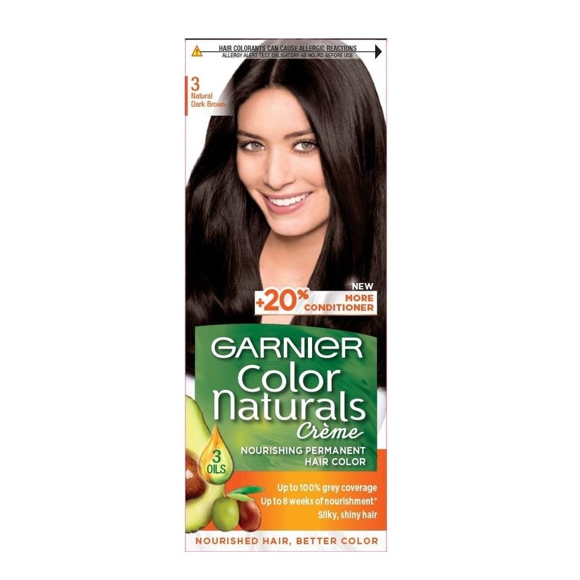 کیت رنگ مو گارنیر سری Color Naturals شماره 3