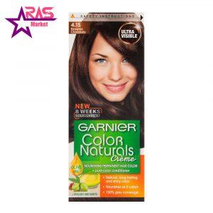 کیت رنگ مو گارنیر سری Color Naturals شماره 4.15 ، فروشگاه اینترنتی ارس مارکت ، بهداشت بانوان