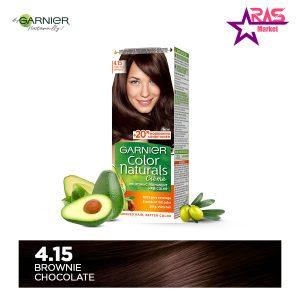 کیت رنگ مو گارنیر سری Color Naturals شماره 4.15 ، فروشگاه اینترنتی ارس مارکت ، garnier hair color