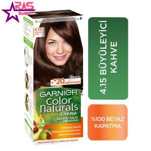 کیت رنگ مو گارنیر سری Color Naturals شماره 4.15 ، فروشگاه اینترنتی ارس مارکت