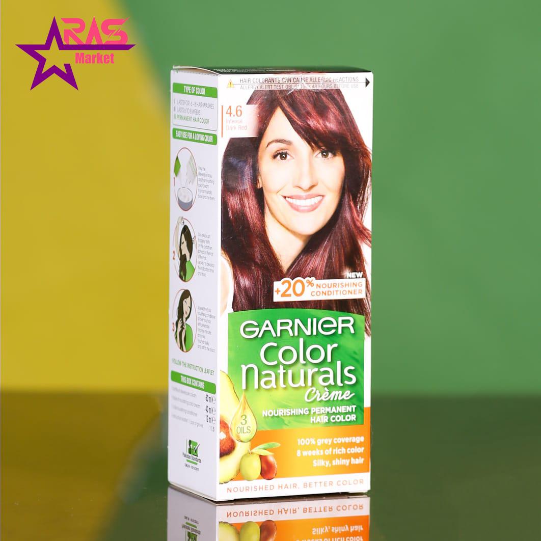 کیت رنگ مو گارنیر سری Color Naturals شماره 4.6 ، فروشگاه اینترنتی ارس مارکت ، بهداشت بانوان