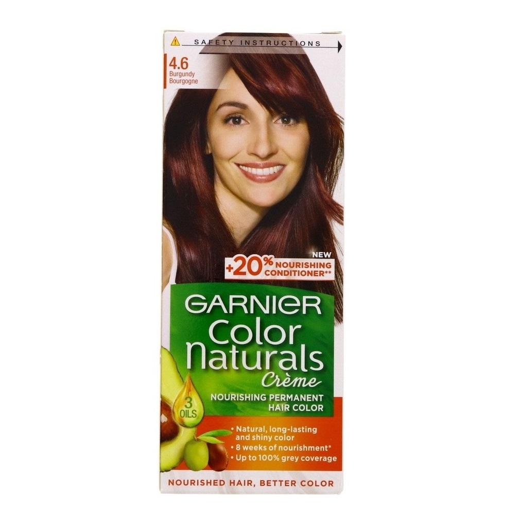کیت رنگ مو گارنیر سری Color Naturals شماره 4.6