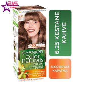 کیت رنگ مو گارنیر سری Color Naturals شماره 6.25 ، فروشگاه اینترنتی ارس مارکت