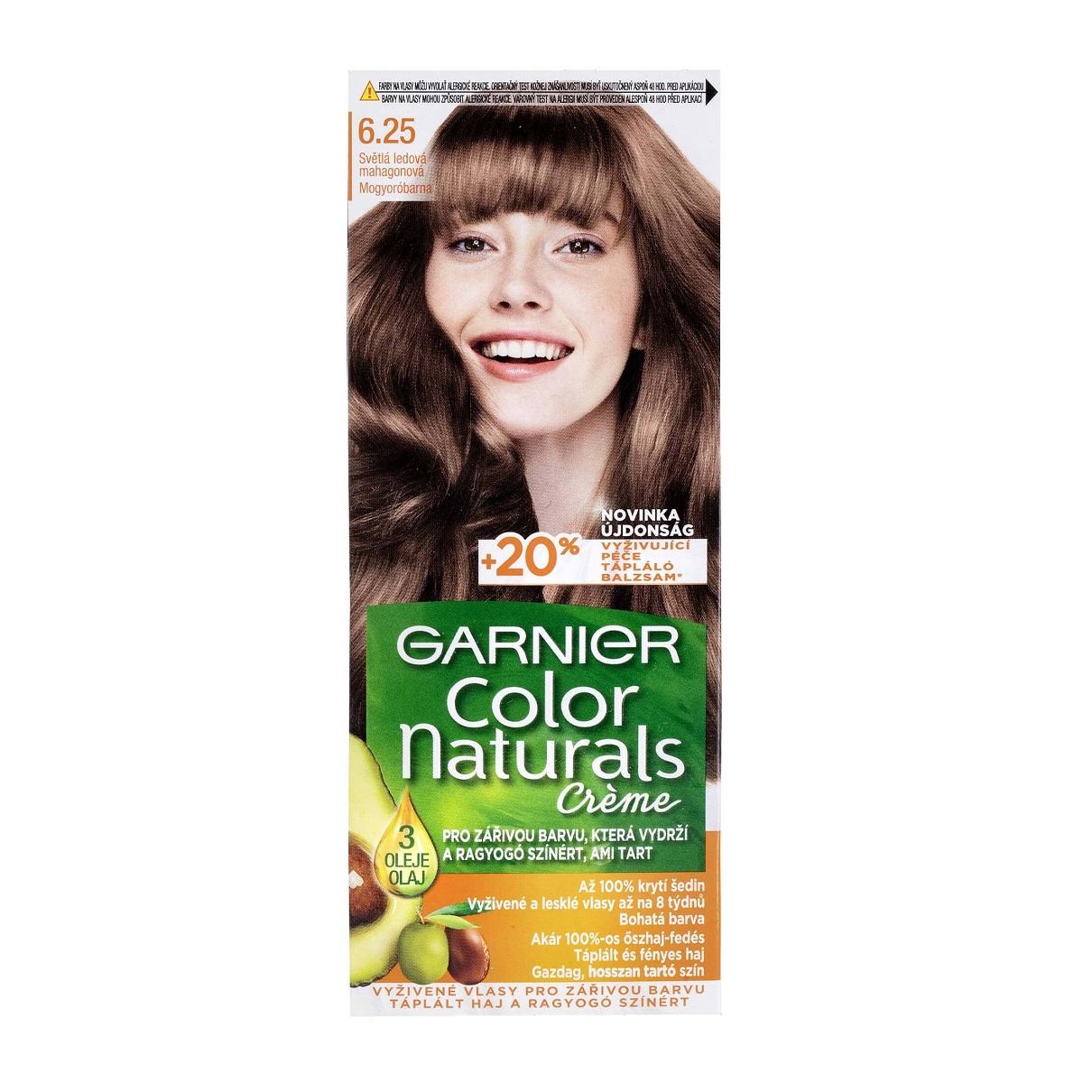 کیت رنگ مو گارنیر سری Color Naturals شماره 6.25