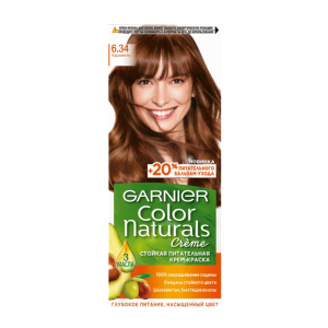 کیت رنگ مو گارنیر سری Color Naturals شماره 6.34