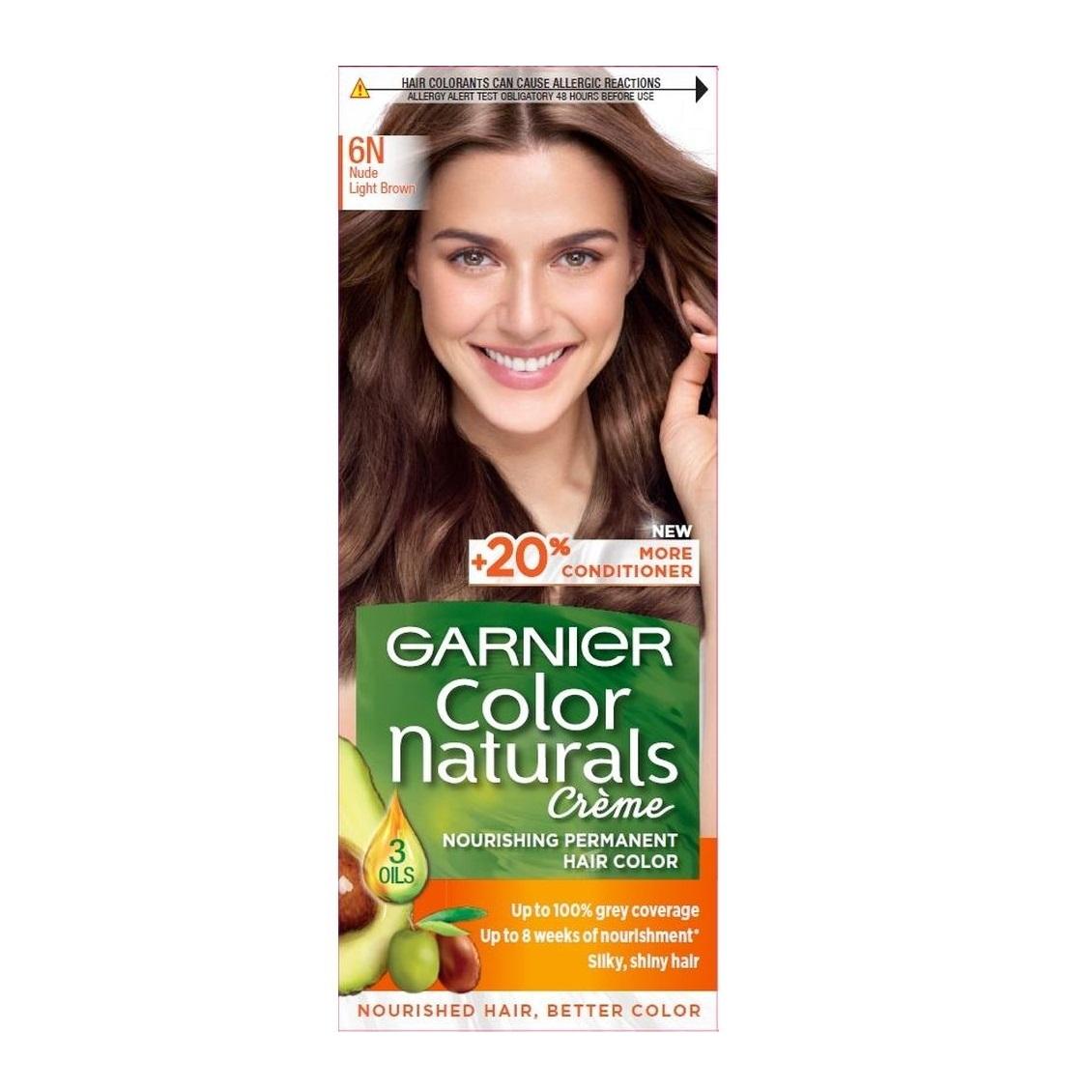 کیت رنگ مو گارنیر سری Color Naturals شماره 6N