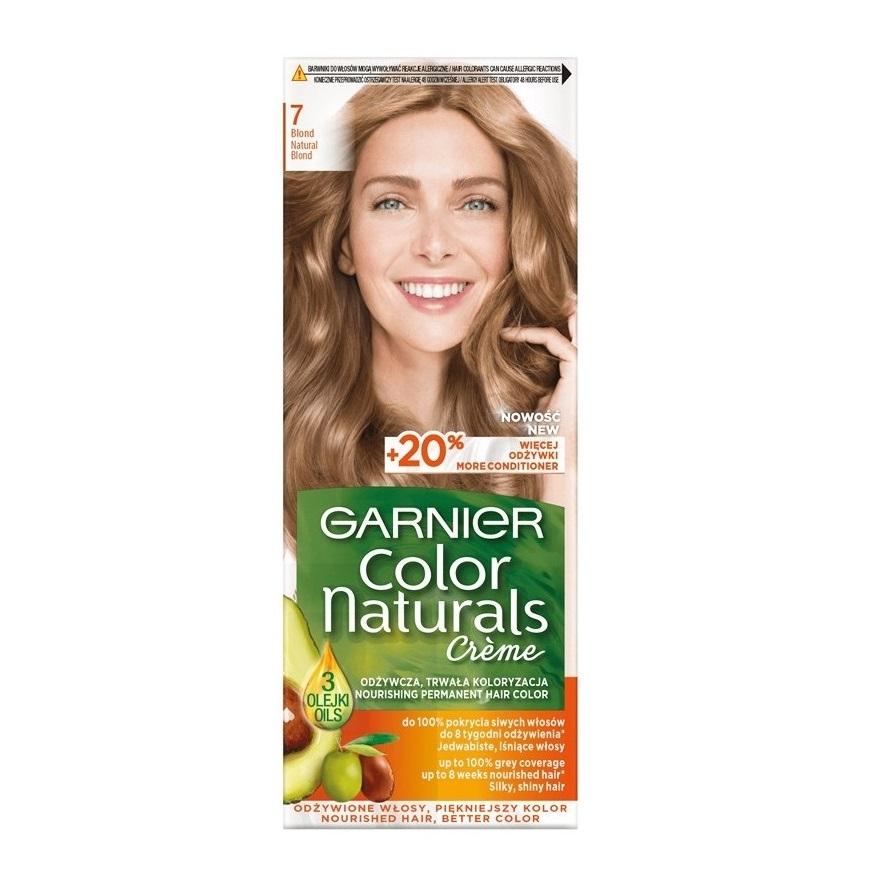 کیت رنگ مو گارنیر سری Color Naturals شماره 7