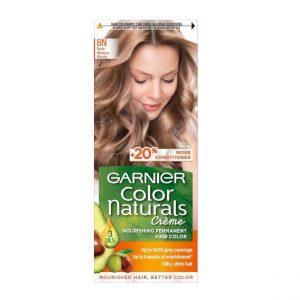 کیت رنگ مو گارنیر سری Color Naturals شماره 8N