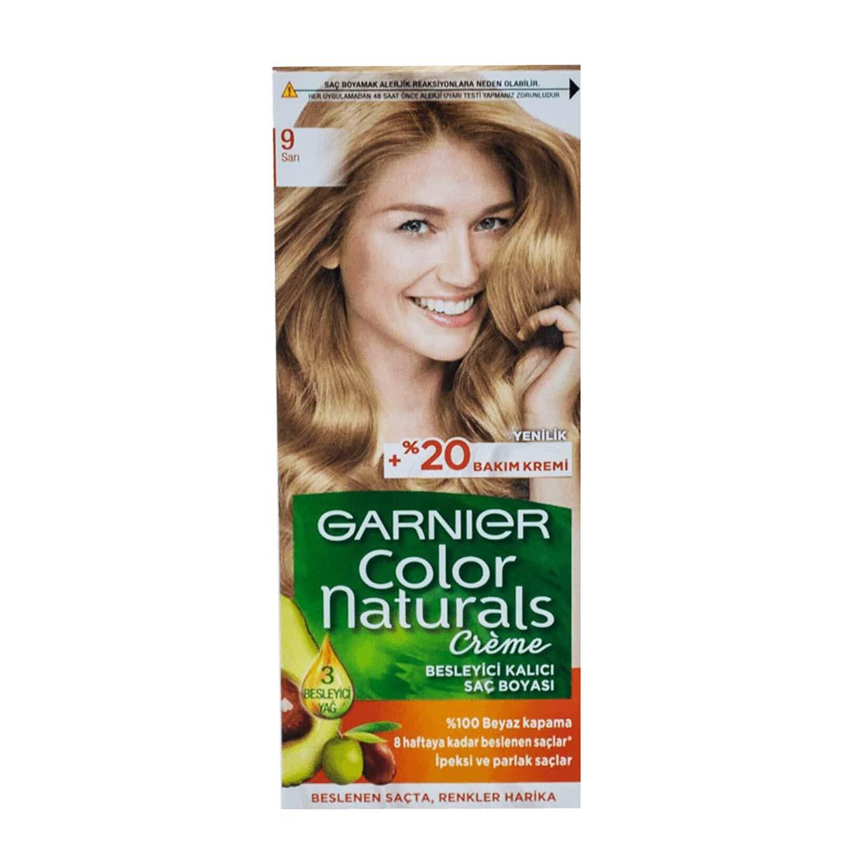 کیت رنگ مو گارنیر سری Color Naturals شماره 9
