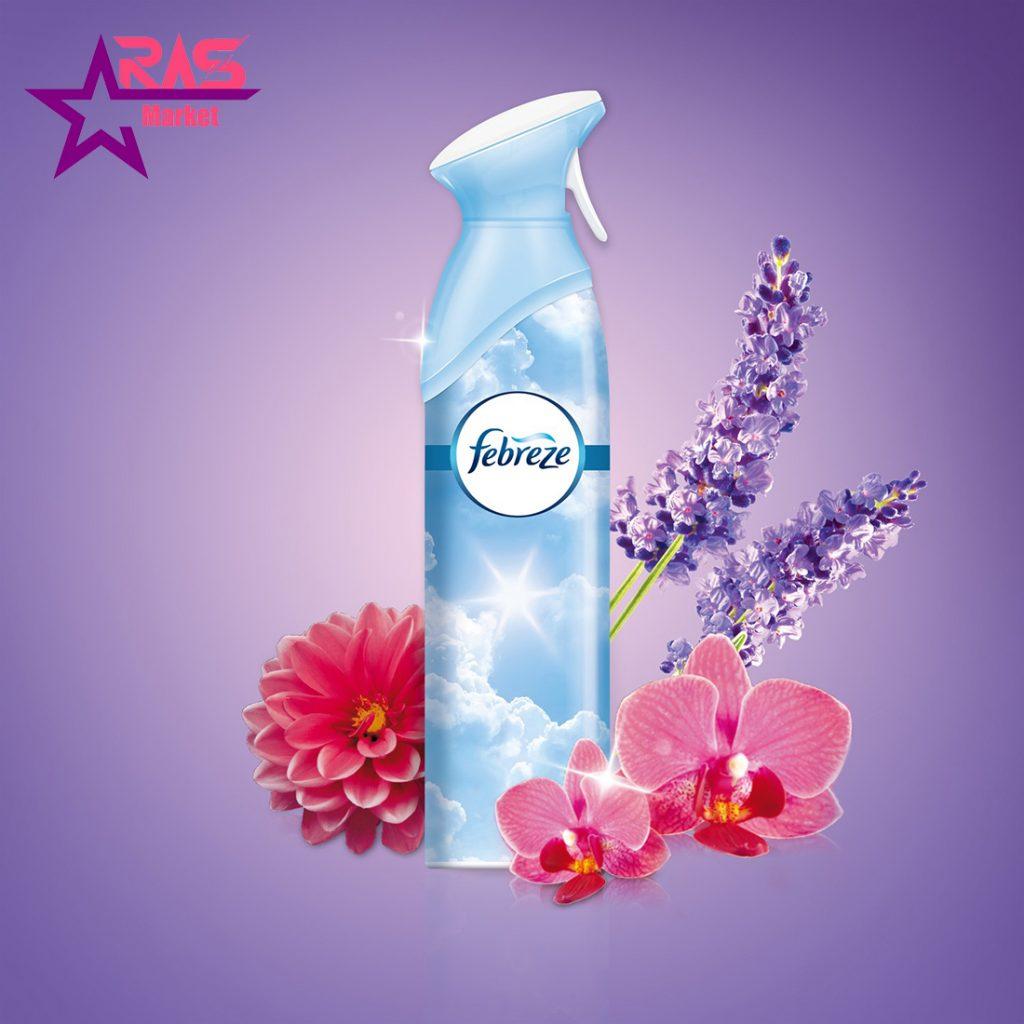 اسپری خوشبو کننده فبرز با رایحه شکوفه های گیلاس ژاپنی 300 میلی لیتر ، خرید اینترنتی محصولات شوینده و بهداشتی