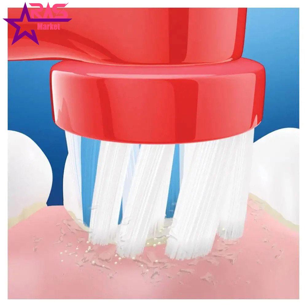 مسواک برقی کودک اورال بی مدل Cars ، خرید اینترنتی محصولات شوینده و بهداشتی ، بهداشت دهان و دندان