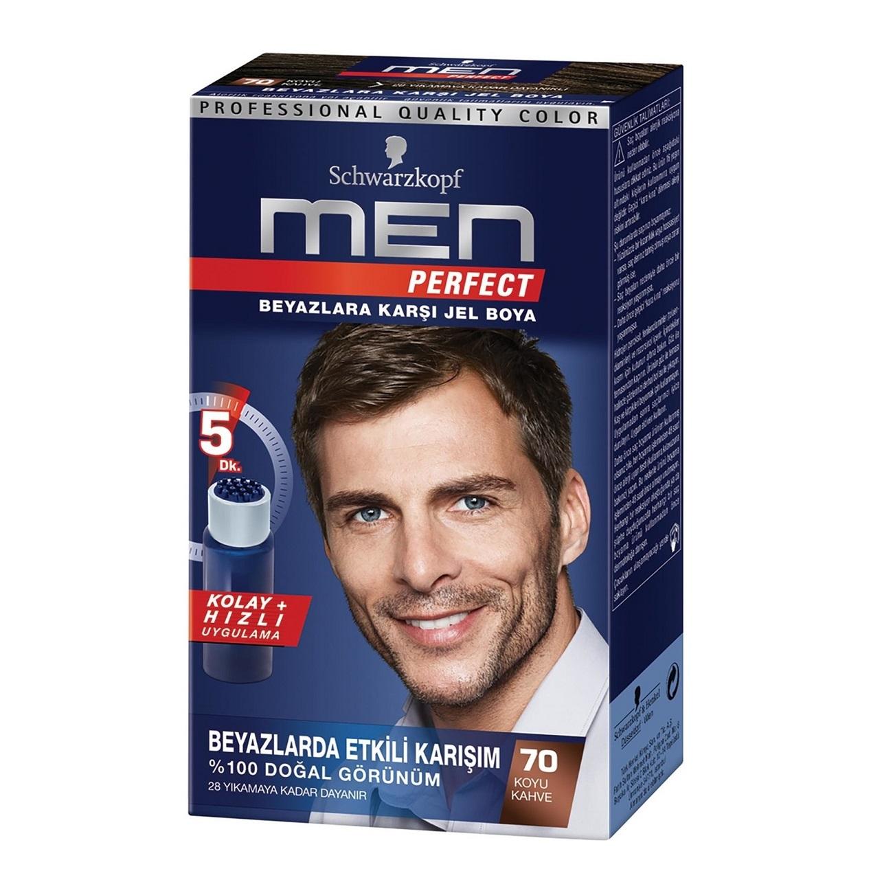 کیت رنگ مو مردانه Men Perfect شماره 70