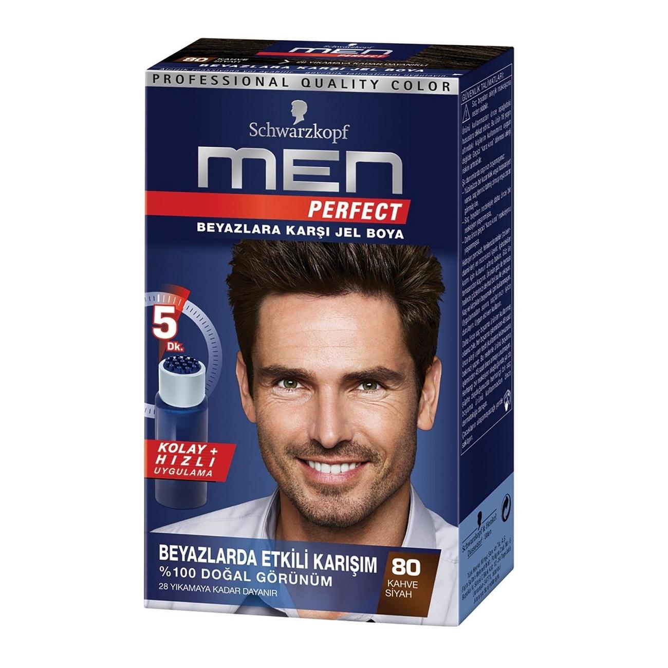 کیت رنگ مو مردانه Men Perfect شماره 80