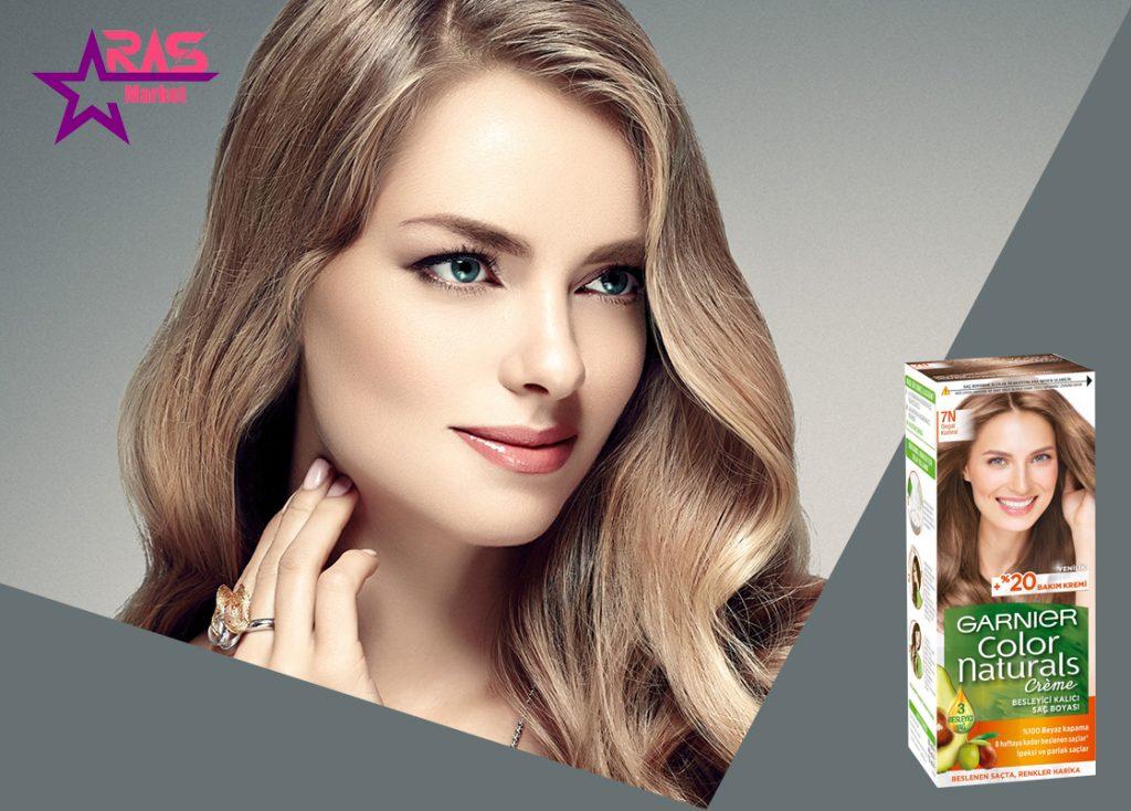 کیت رنگ مو گارنیر سری Color Naturals شماره 7N ، فروشگاه اینتذنتی ارس مارکت ، بهداشت بانوان ، رنگ موی زنانه