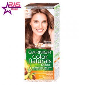 کیت رنگ مو گارنیر سری Color Naturals شماره 7N ، فروشگاه اینترنتی ارس مارکت ، رنگ موی زنانه گارنیر