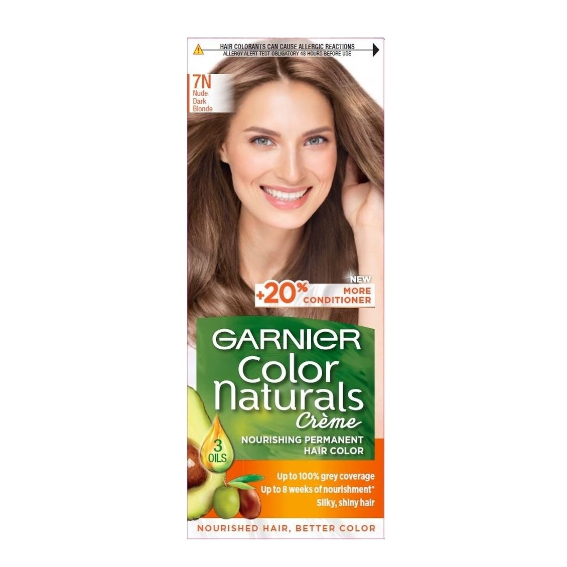 کیت رنگ مو گارنیر سری Color Naturals شماره 7N