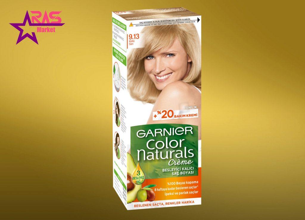 کیت رنگ مو گارنیر سری Color Naturals شماره 9.13 ، خرید اینترنتی محصولات شوینده و بهداشتی