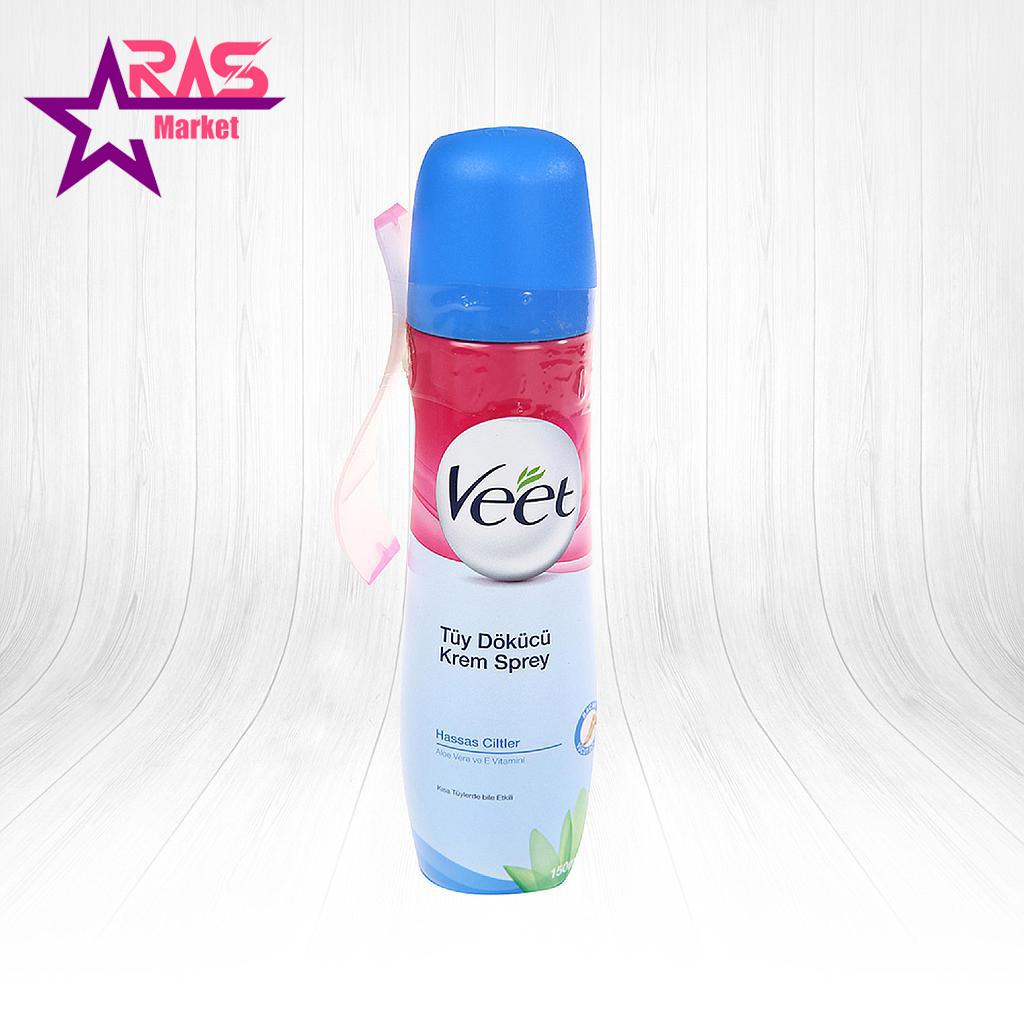 اسپری موبر کرمی ویت مخصوص پوست حساس 150 میلی لیتر ، خرید اینترنتی محصولات شوینده و بهداشتی