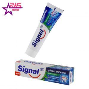 خمیر دندان سیگنال ضد پوسیدگی با رایحه نعنا 100 میلی لیتر ، فروشگاه اینترنتی ارس مارکت ، بهداشت دهان و دندان