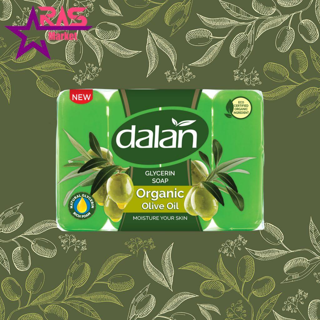 صابون دالان حاوی گلیسیرین و روغن زیتون 4 عددی ، خرید اینترنتی محصولات شوینده و بهداشتی ، ارس مارکت