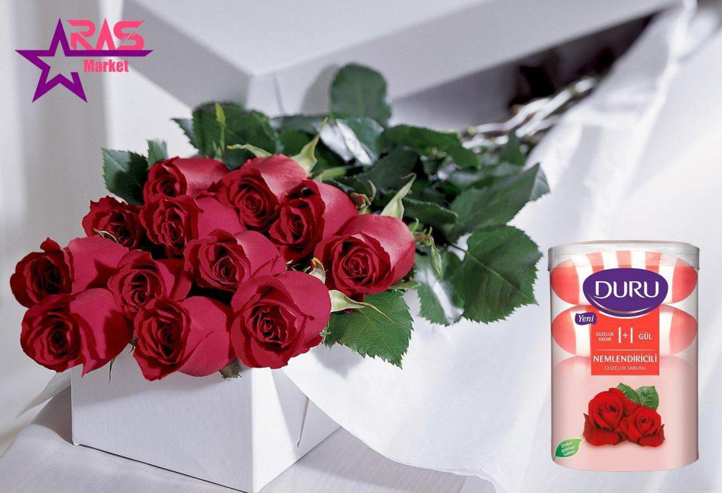 صابون دورو سری Nemlendiricili با رایحه گل رز 4 عددی ، خرید اینترنتی محصولات اصل ترکیه ، استحمام