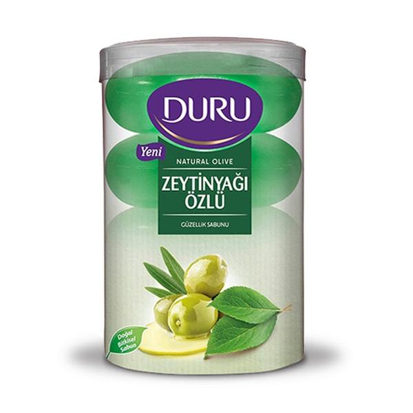 صابون دورو مدل Natural Olive حاوی عصاره روغن زیتون 4 عددی