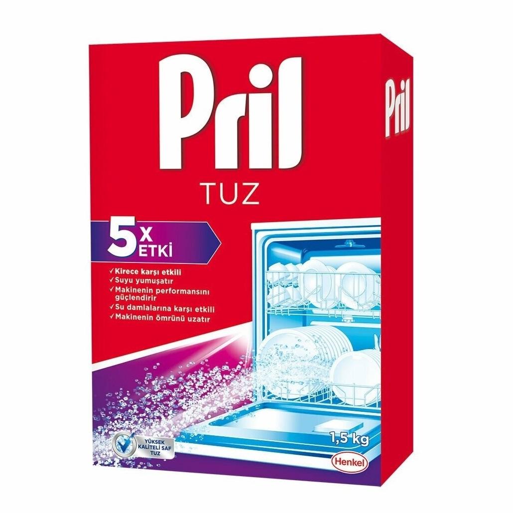 نمک ماشین ظرفشویی پریل 1.5 کیلوگرمی