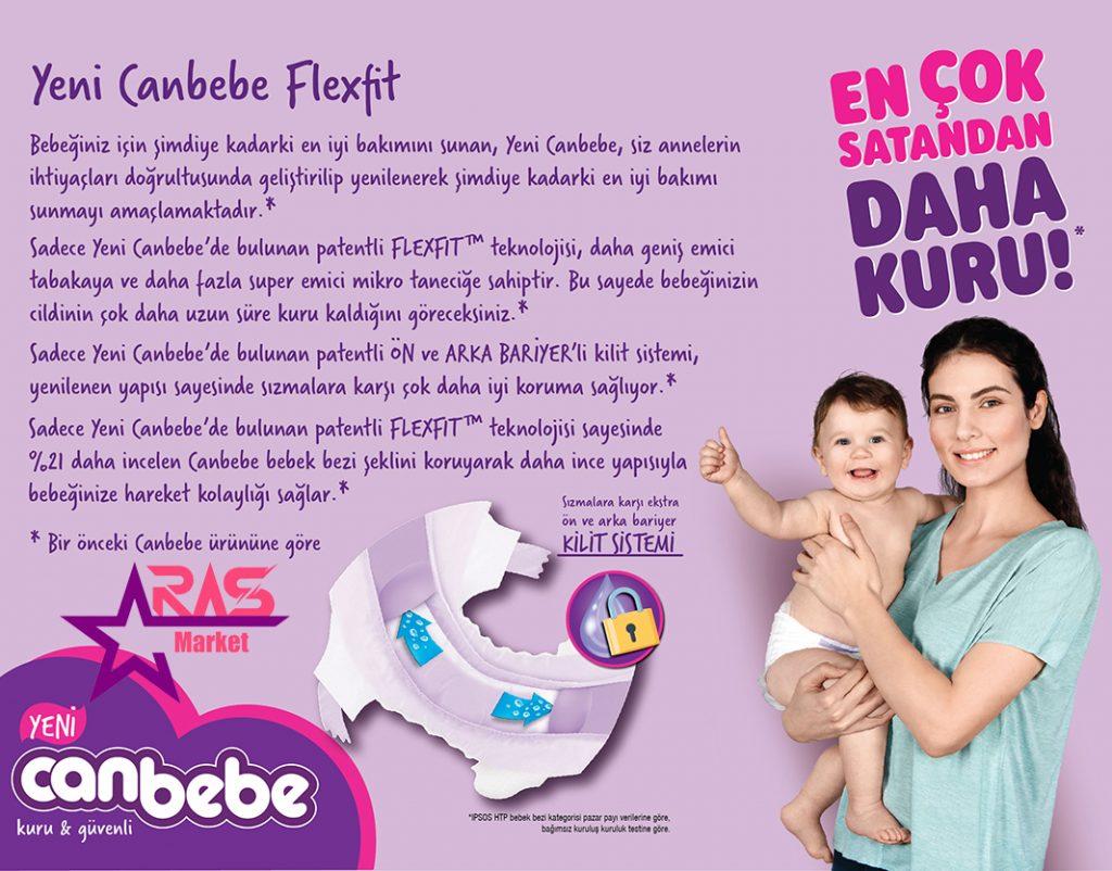 پوشک بچه جان به به سایز 2 طرح جدید 52 عددی ، خرید اینترنتی محصولات شوینده و بهداشتی ، ارس مارکت ، canbebe