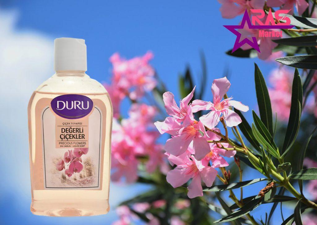 صابون مایع دورو با رایحه گل ها 300 میلی لیتر ، خرید اینترنتی محصولات شوینده و بهداشتی