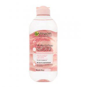 محلول آرایش پاک کن گارنیر حاوی عصاره گلاب 400 میلی لیتر